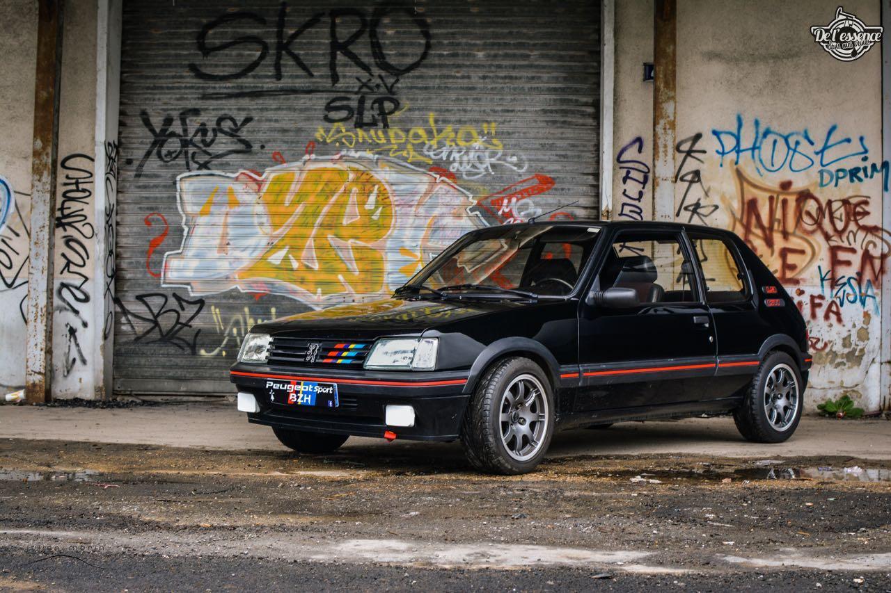 Peugeot 205 Gti de Florent... Le bonheur ? C'est pas compliqué ! 1
