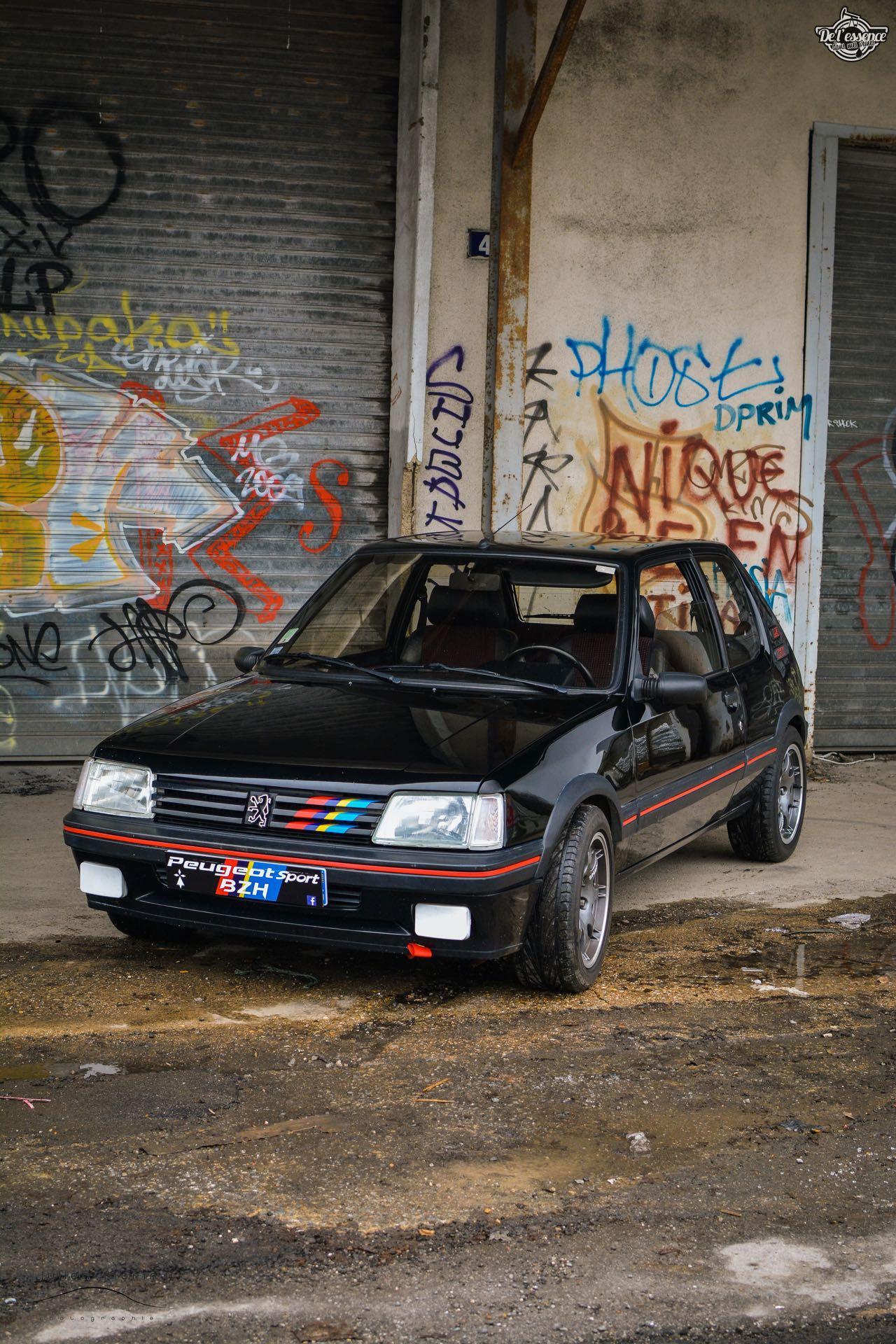 Peugeot 205 Gti de Florent... Le bonheur ? C'est pas compliqué ! 7