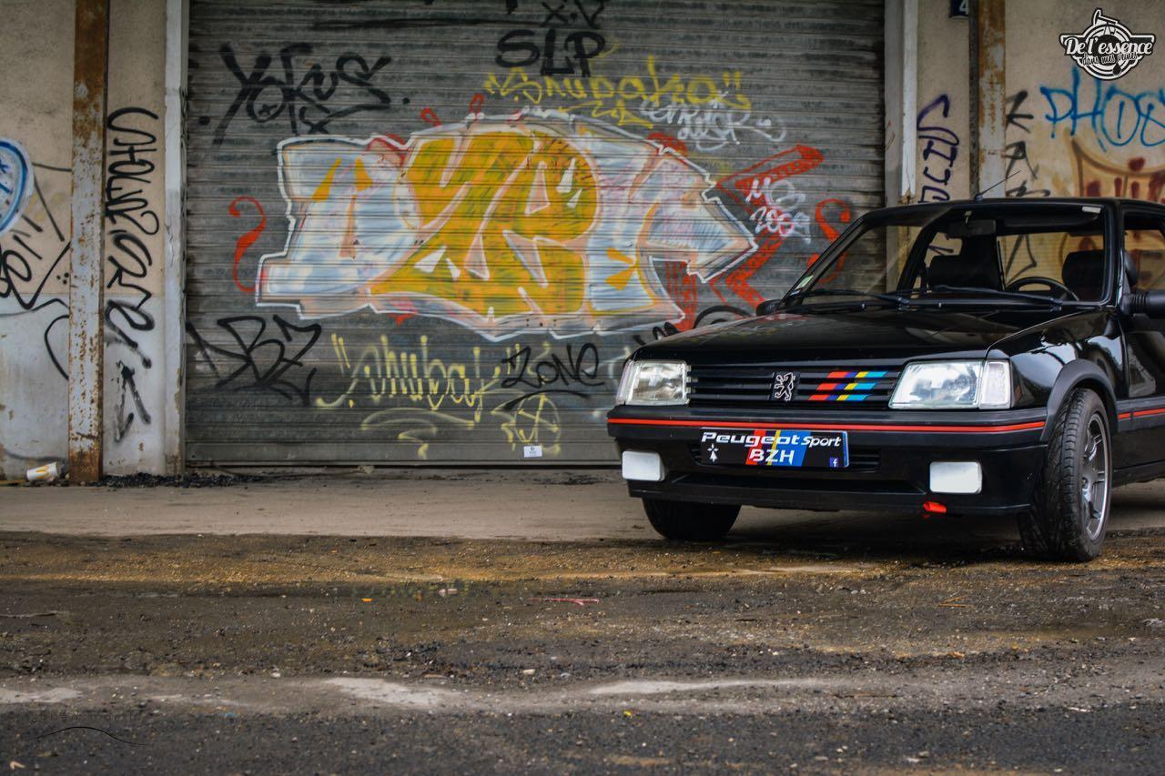Peugeot 205 Gti de Florent... Le bonheur ? C'est pas compliqué ! 3