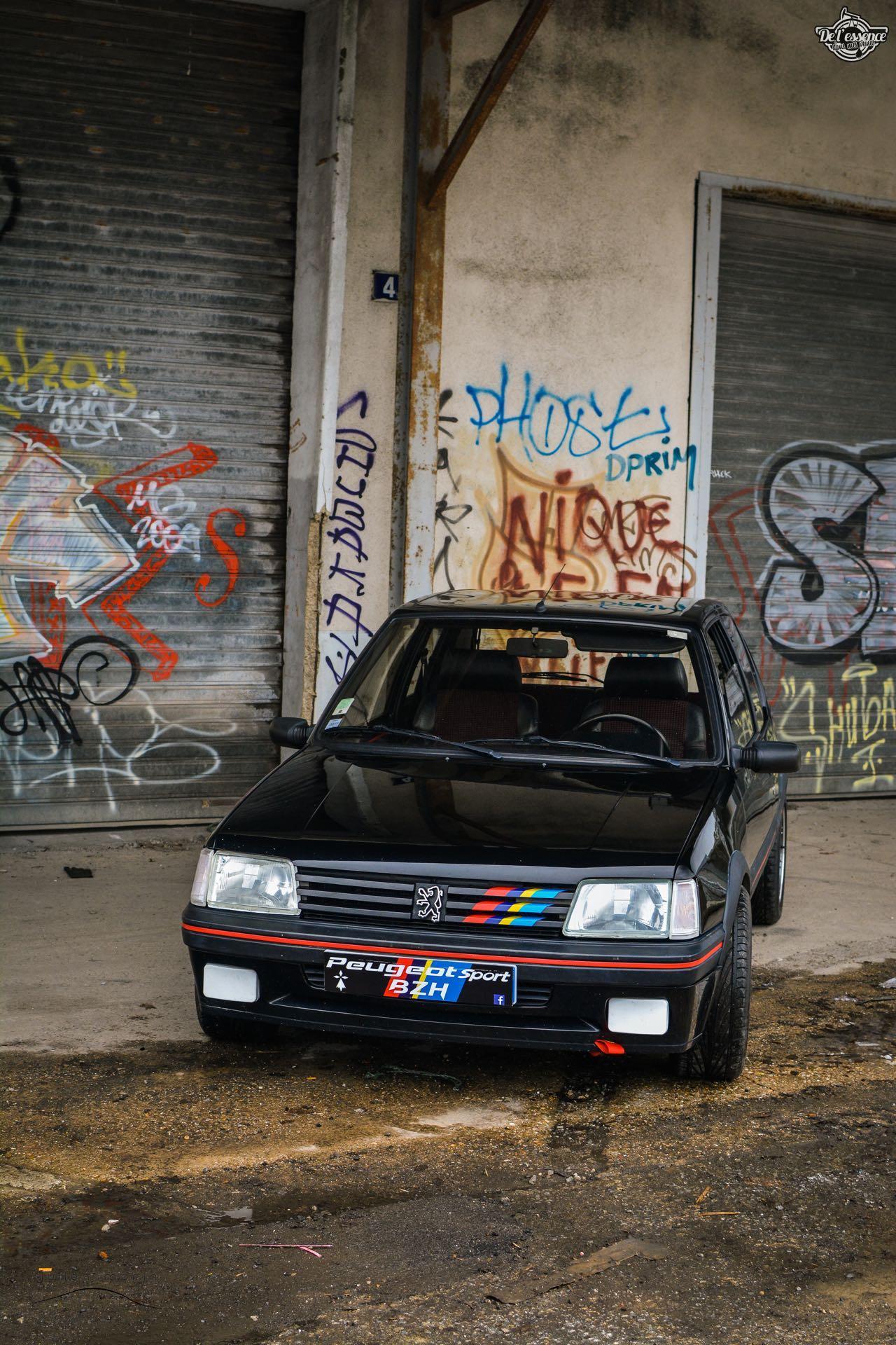 Peugeot 205 Gti de Florent... Le bonheur ? C'est pas compliqué ! 2