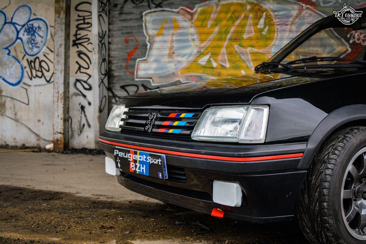 Peugeot 205 Gti de Florent... Le bonheur ? C'est pas compliqué ! 5