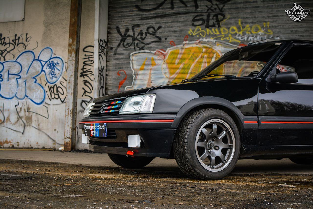Peugeot 205 Gti de Florent... Le bonheur ? C'est pas compliqué ! 8