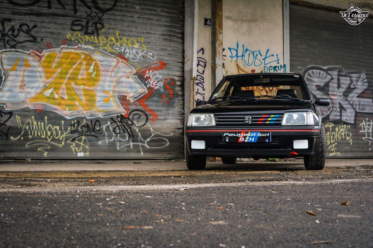 Peugeot 205 Gti de Florent... Le bonheur ? C'est pas compliqué ! 15
