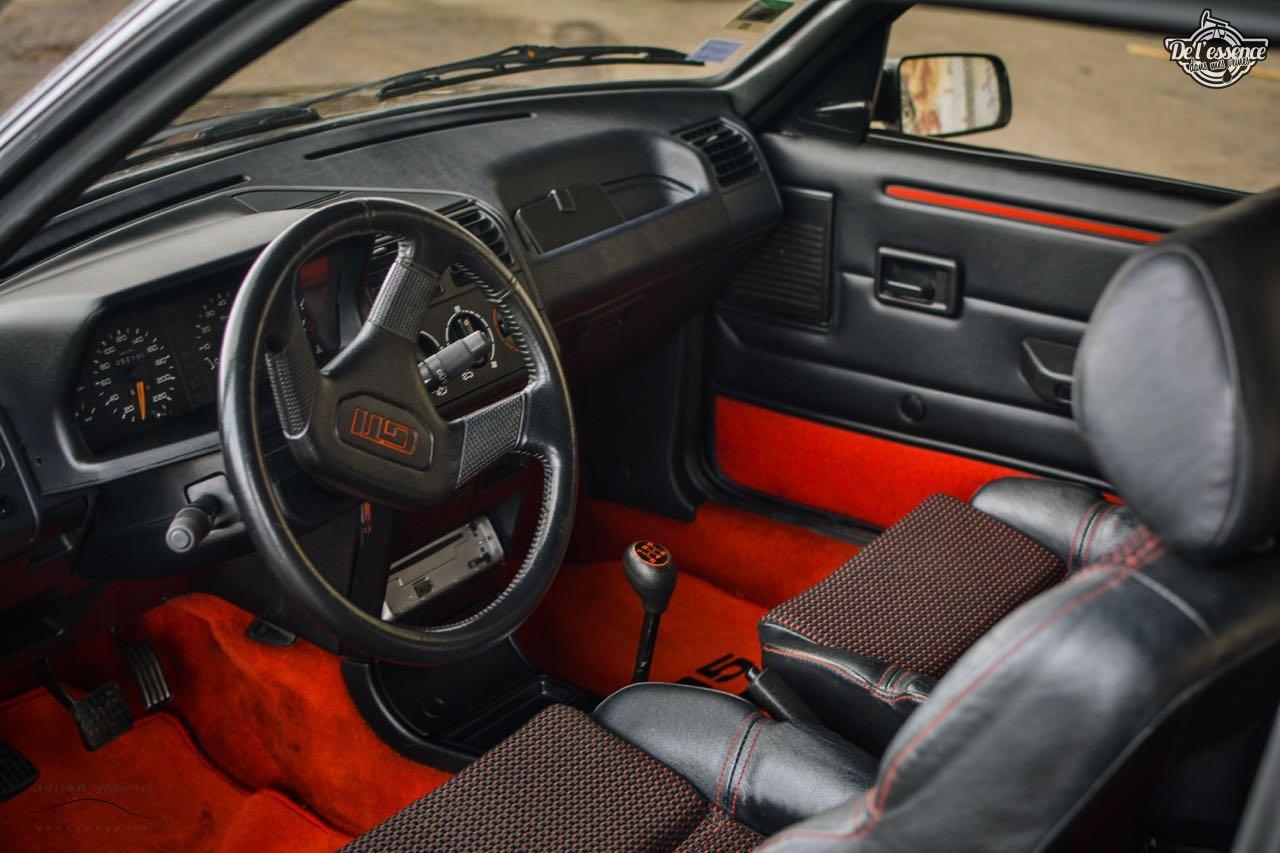 Peugeot 205 Gti de Florent... Le bonheur ? C'est pas compliqué ! 13