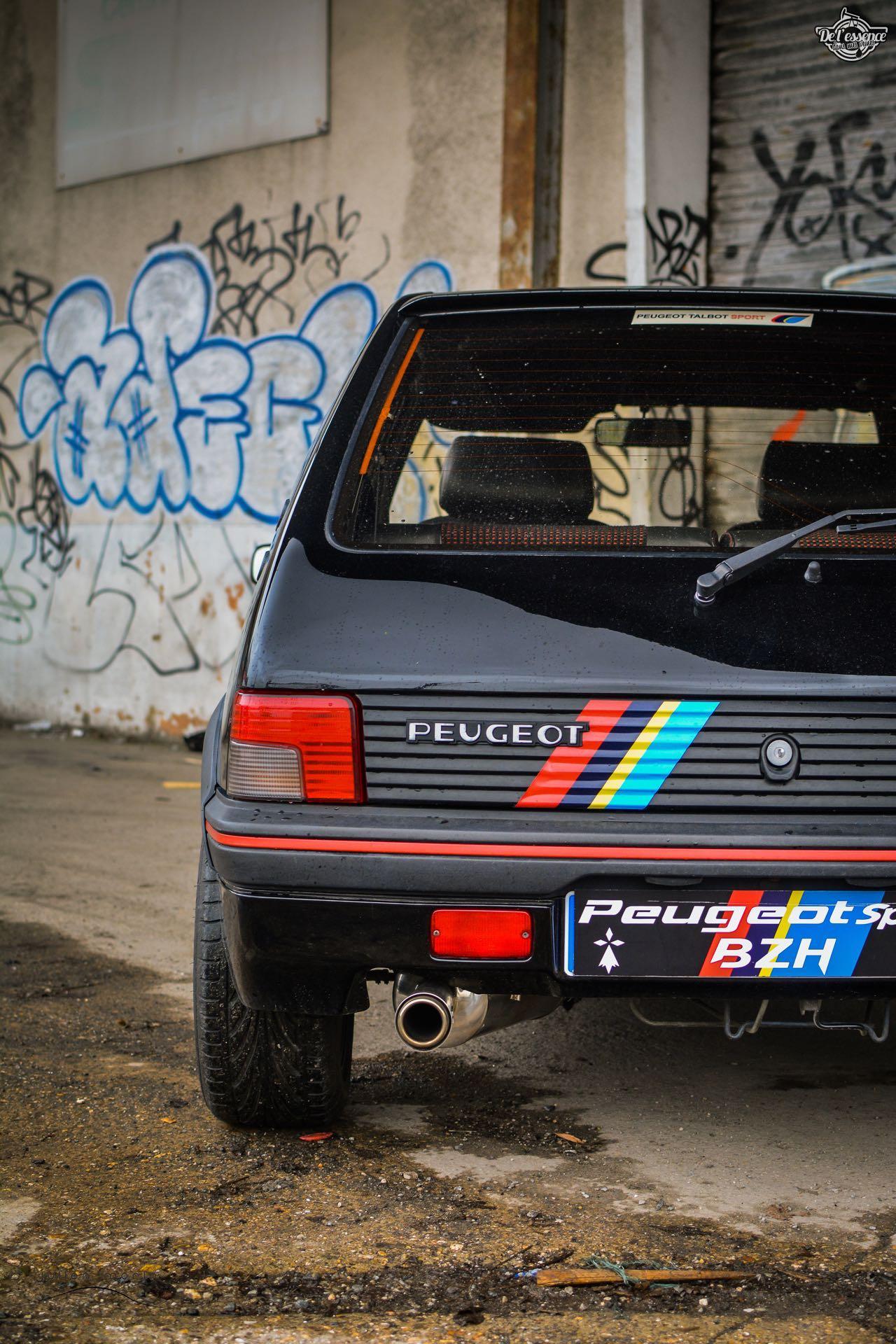 Peugeot 205 Gti de Florent... Le bonheur ? C'est pas compliqué ! 12