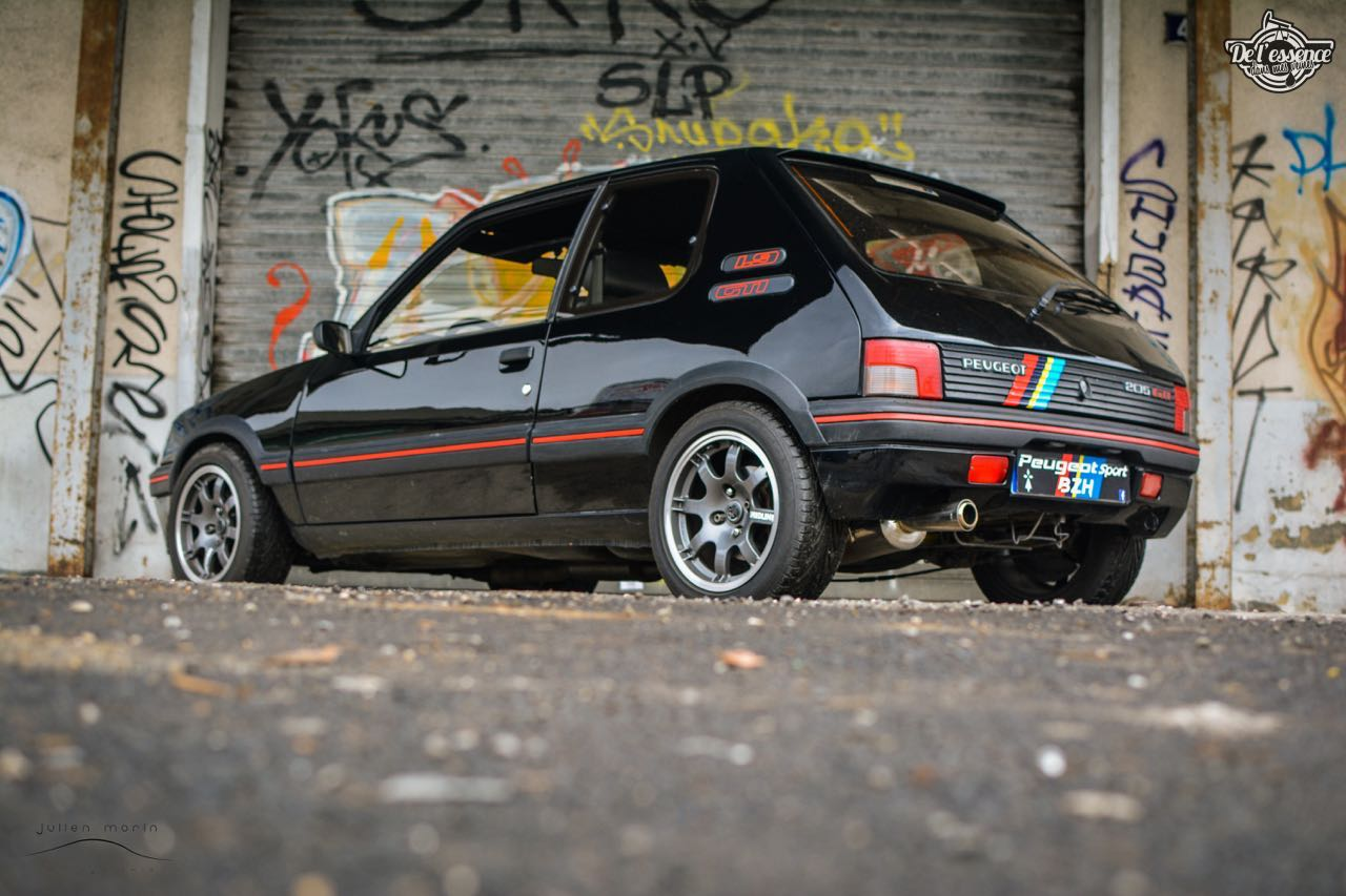 Peugeot 205 Gti de Florent... Le bonheur ? C'est pas compliqué ! 11