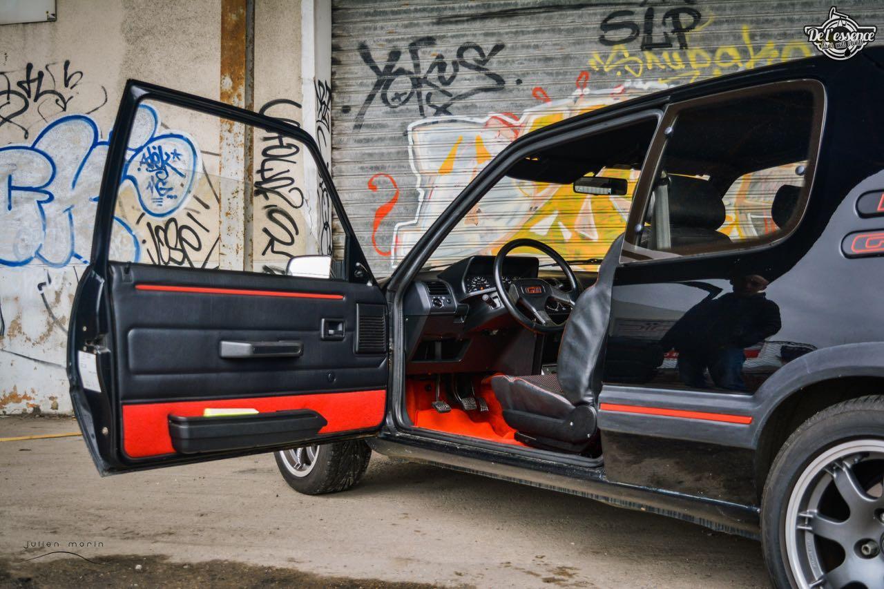 Peugeot 205 Gti de Florent... Le bonheur ? C'est pas compliqué ! 14