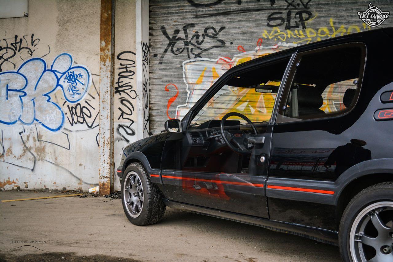 Peugeot 205 Gti de Florent... Le bonheur ? C'est pas compliqué ! 6