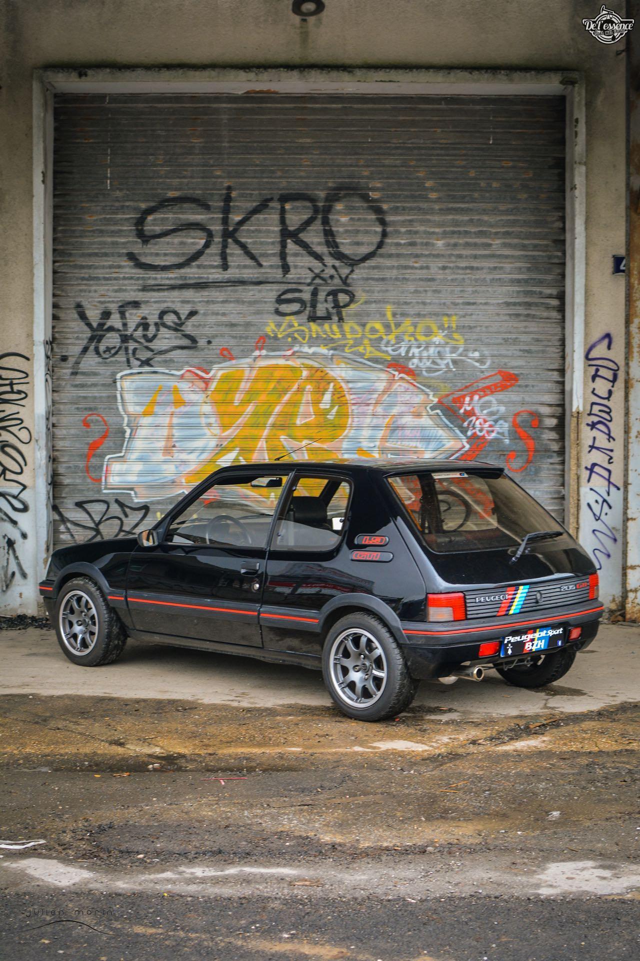 Peugeot 205 Gti de Florent... Le bonheur ? C'est pas compliqué ! 18