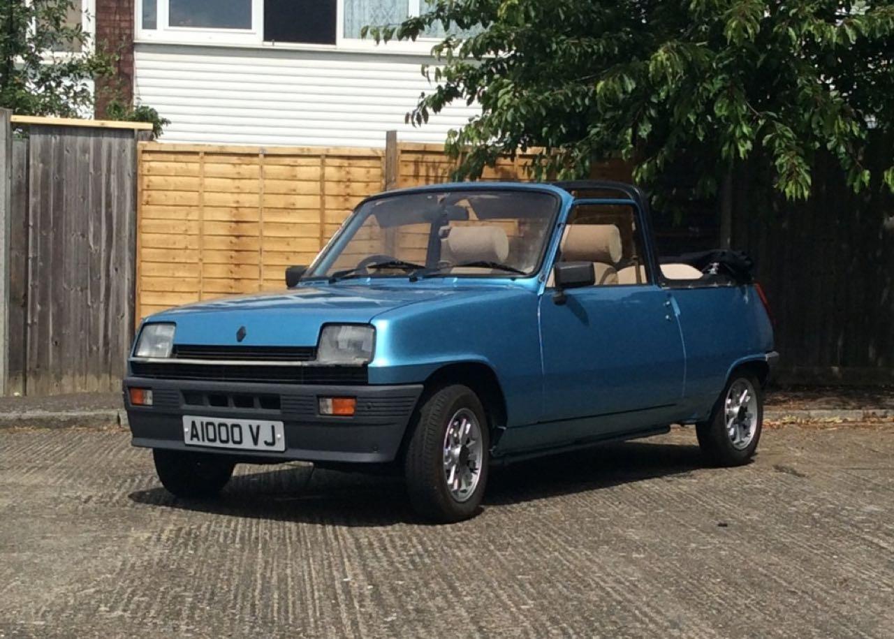 Renault 5 Cabriolet... Signé Cleveland ! 1