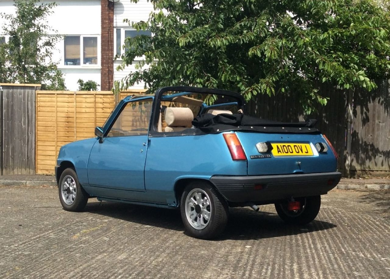 Renault 5 Cabriolet... Signé Cleveland ! 4