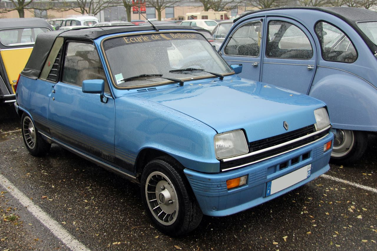 Renault 5 Cabriolet... Signé Cleveland ! 7