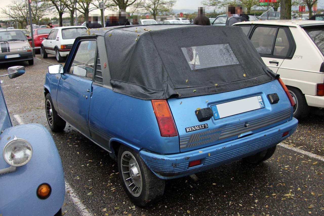 Renault 5 Cabriolet... Signé Cleveland ! 11