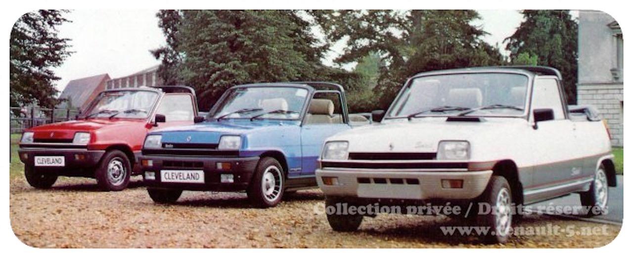 Renault 5 Cabriolet... Signé Cleveland ! 6