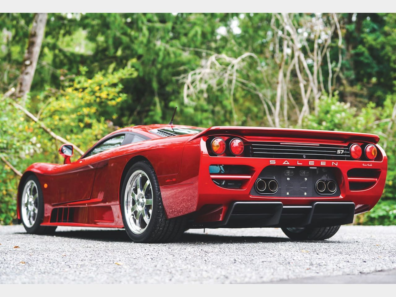 Saleen S7 Atmo ou Twin Turbo... Sans compromis ! 10