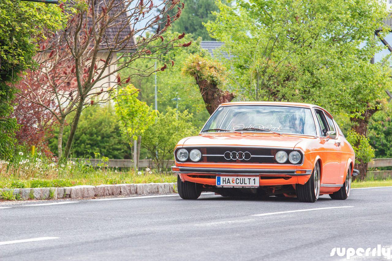 Audi 100 Coupé S posée - La perfection existe ! 12