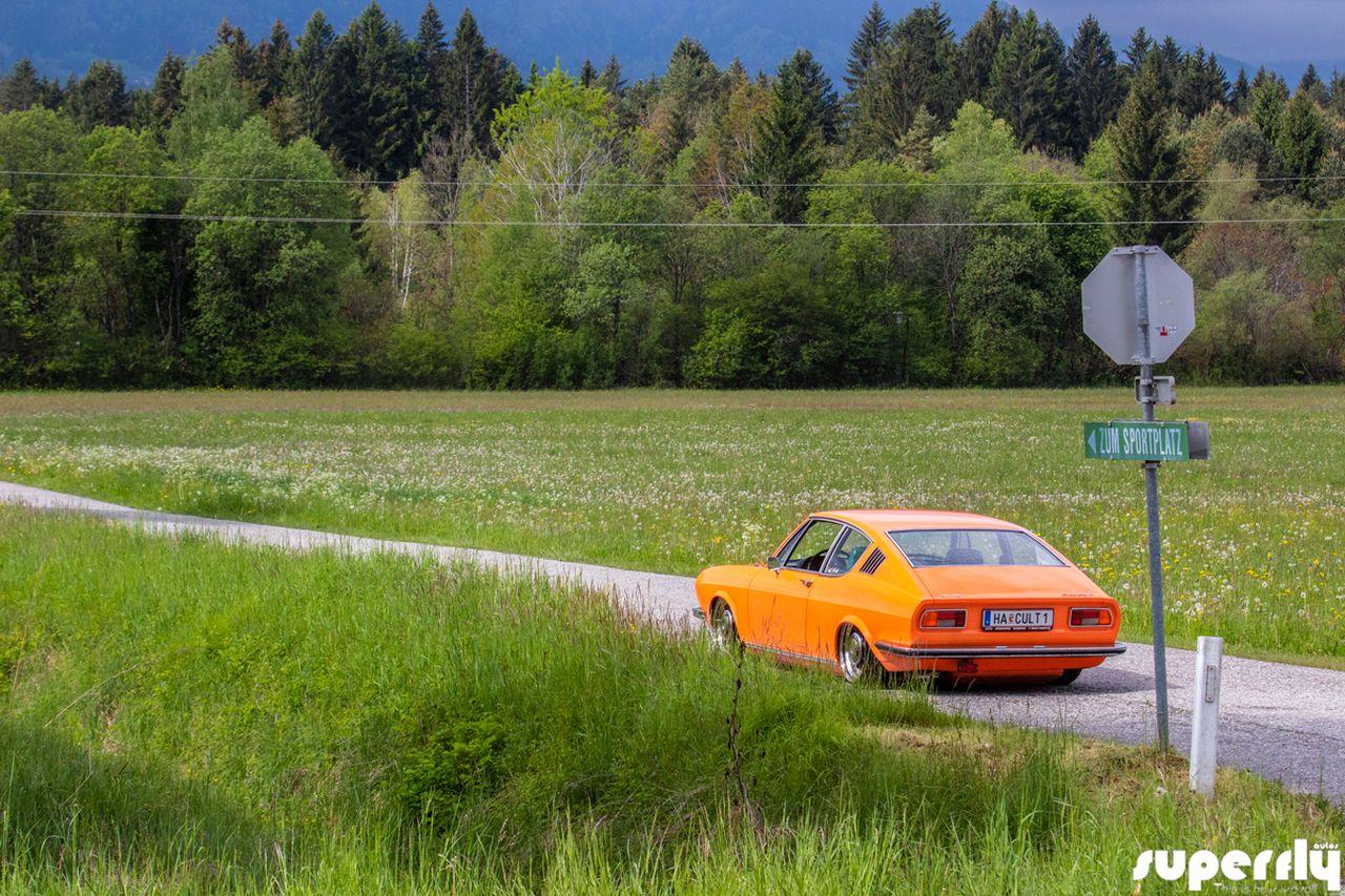 Audi 100 Coupé S posée - La perfection existe ! 1