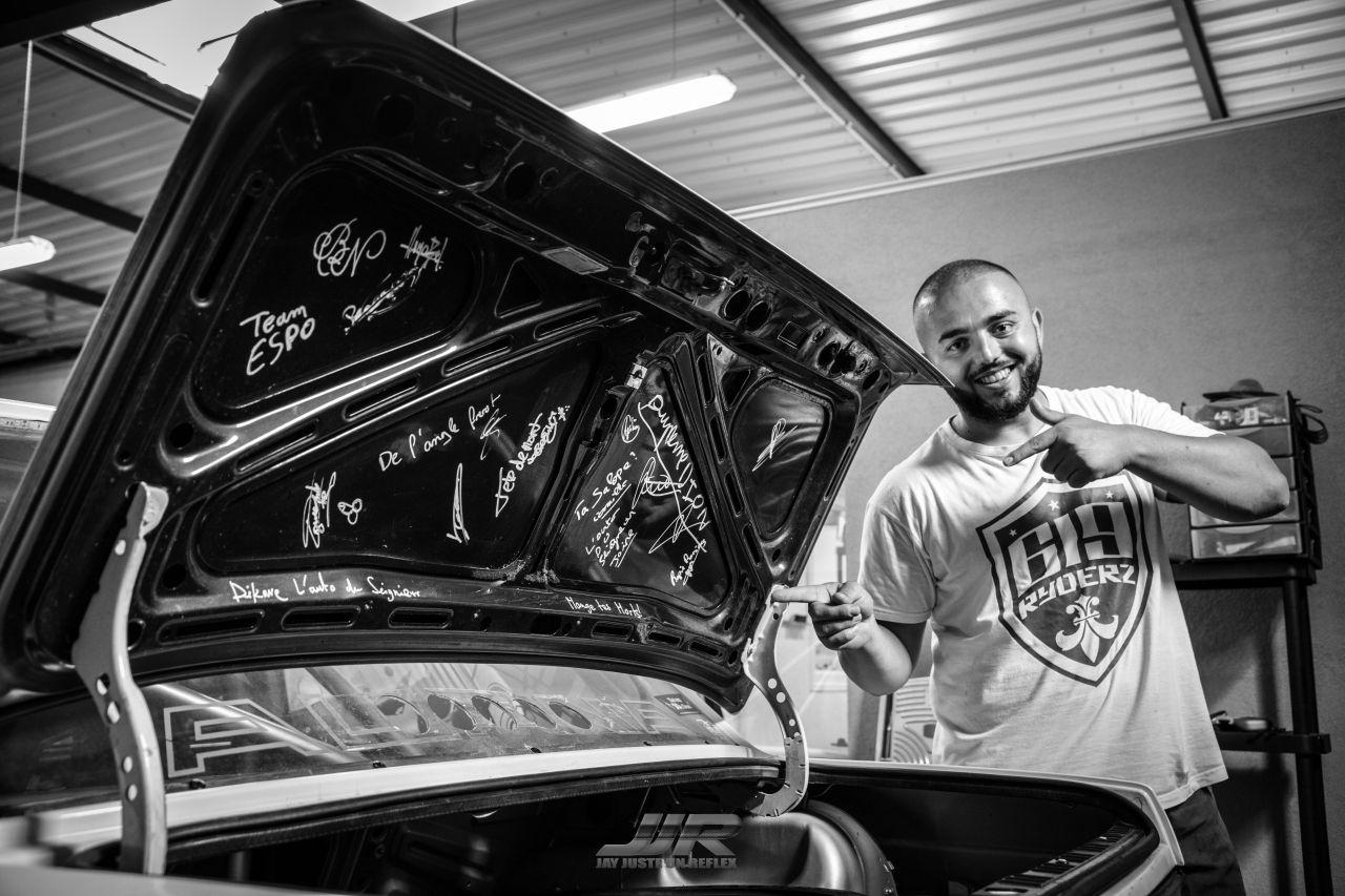 "#Drifteur : Dion Kajtazi et sa E30 ""Kalashnikov"" ! 43"