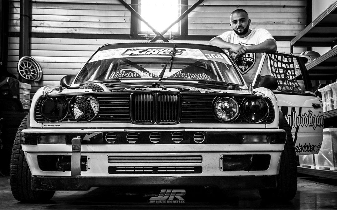 #Drifteur : Dion Kajtazi et sa E30 «Kalashnikov» !