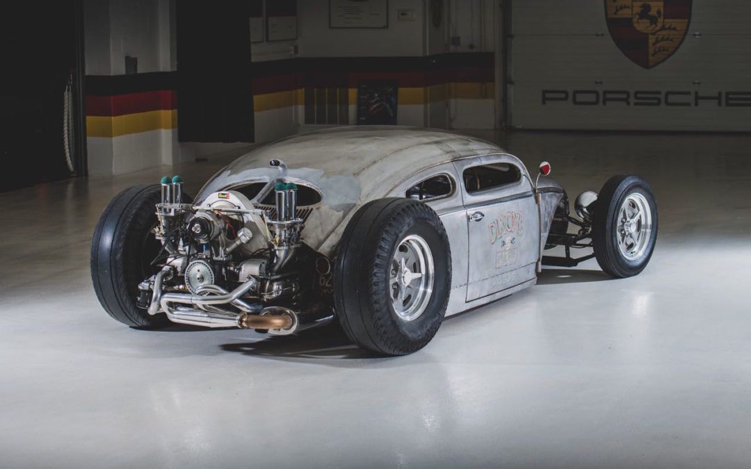 '56 VW Beetle Outlaw « Death » by Franz Muhr – Heavy Metal !
