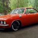 '65 Chevrolet Corvair Monza - Sobre, c'est bien aussi...