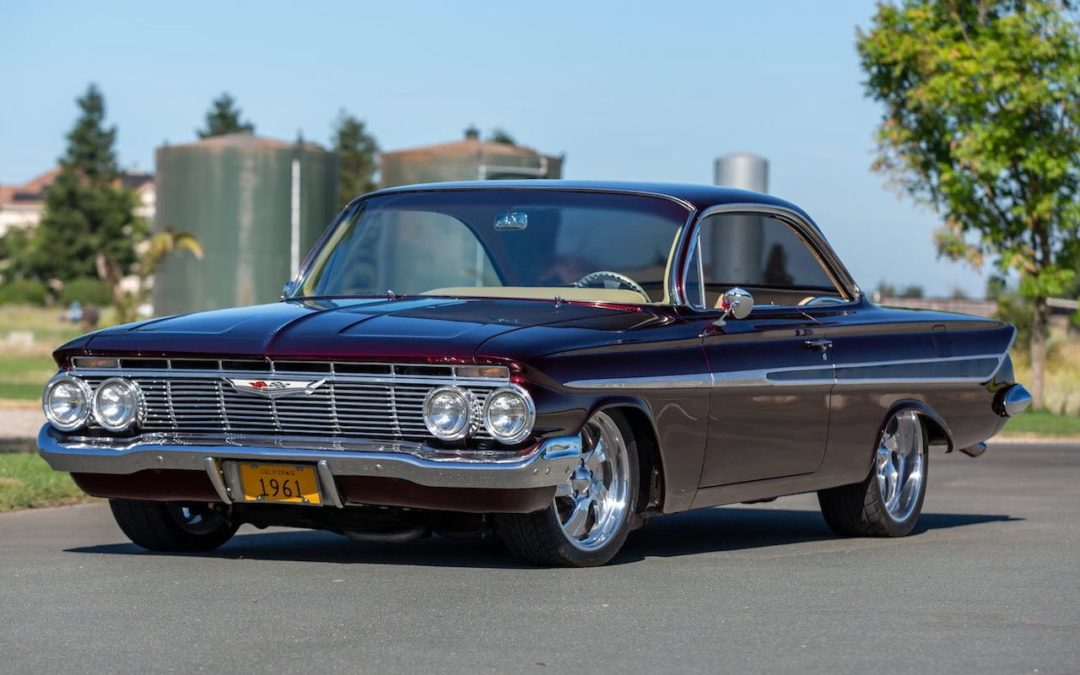 '61 Chevrolet Impala Custom… West Coast !