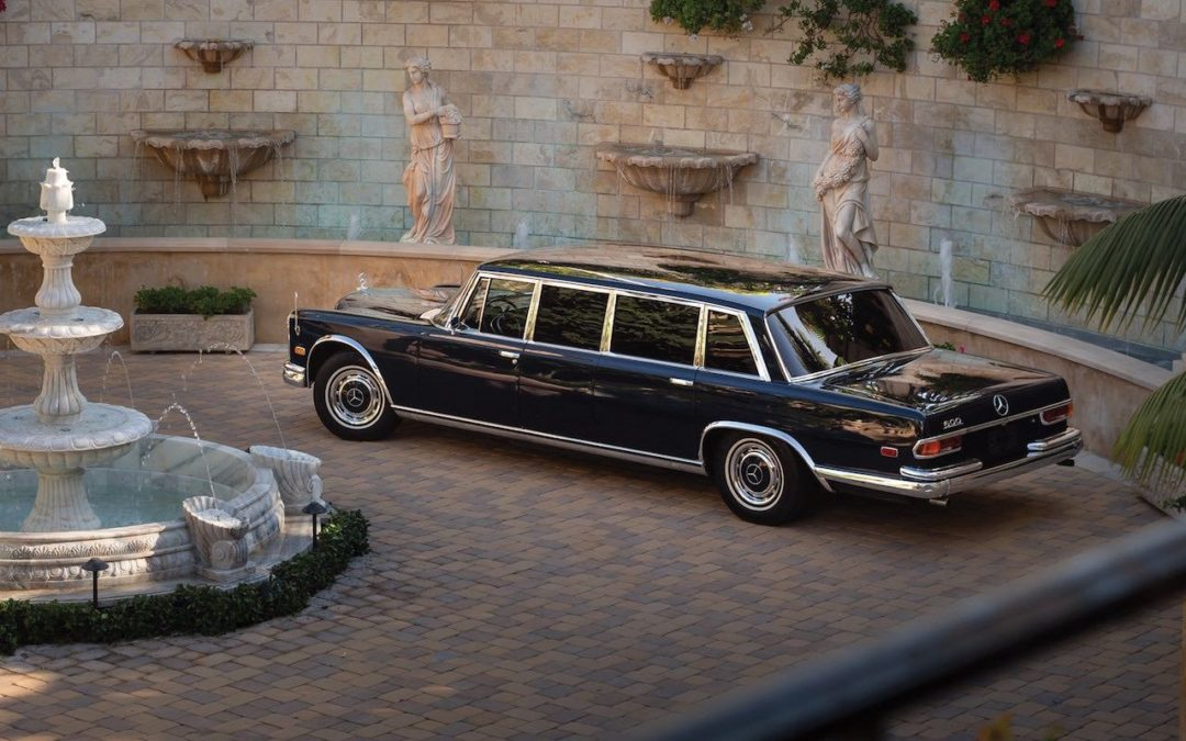 Mercedes 600 Pullman & Limousine… Immortelle et intemporelle !