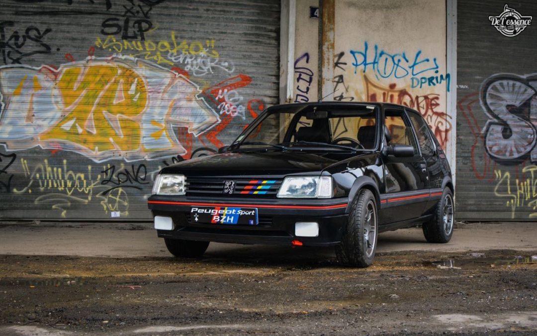 Peugeot 205 Gti de Florent… Le bonheur ? C'est pas compliqué !