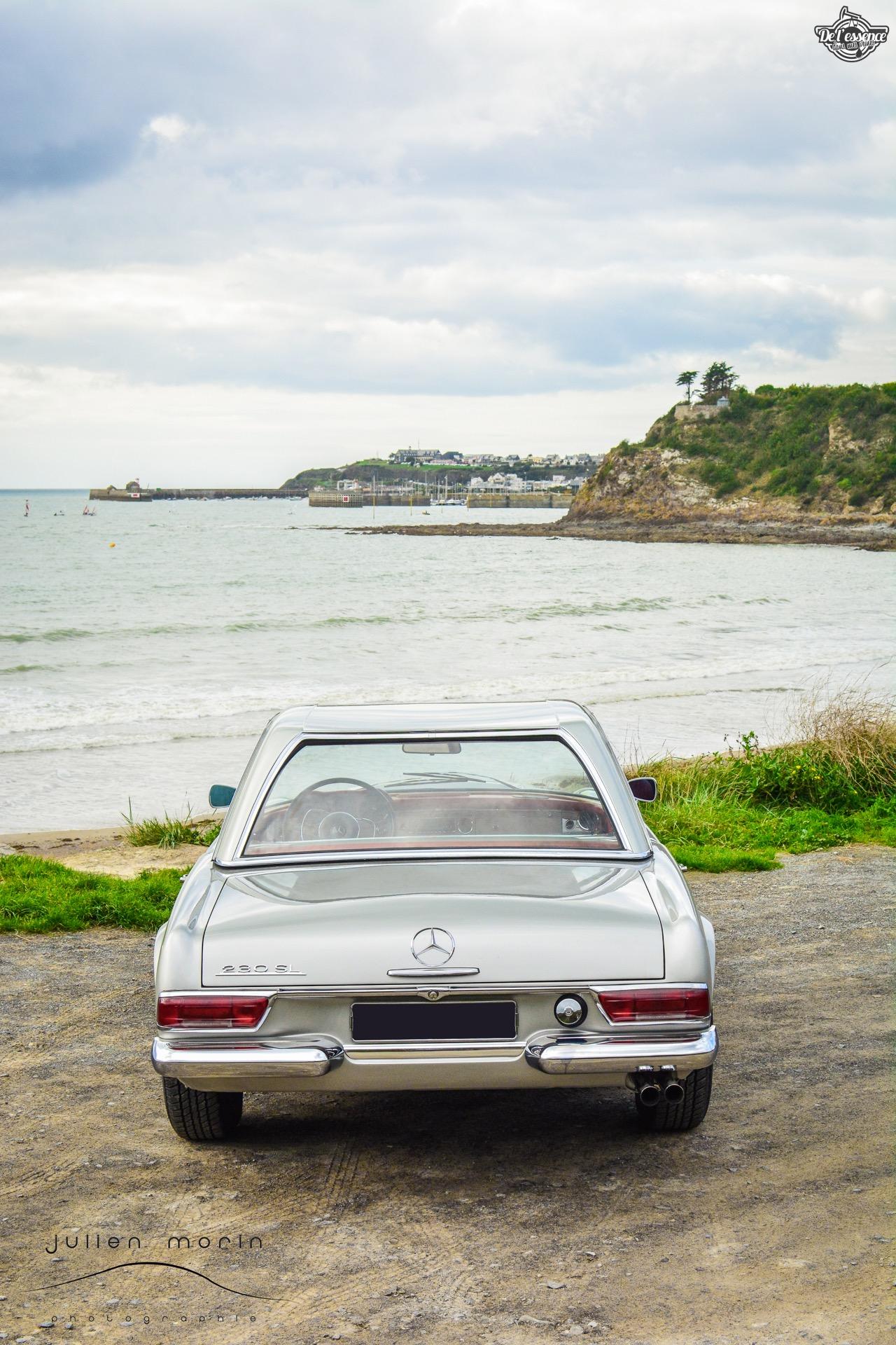 Mercedes 230 SL Pagode - En mode trankil' ! 35