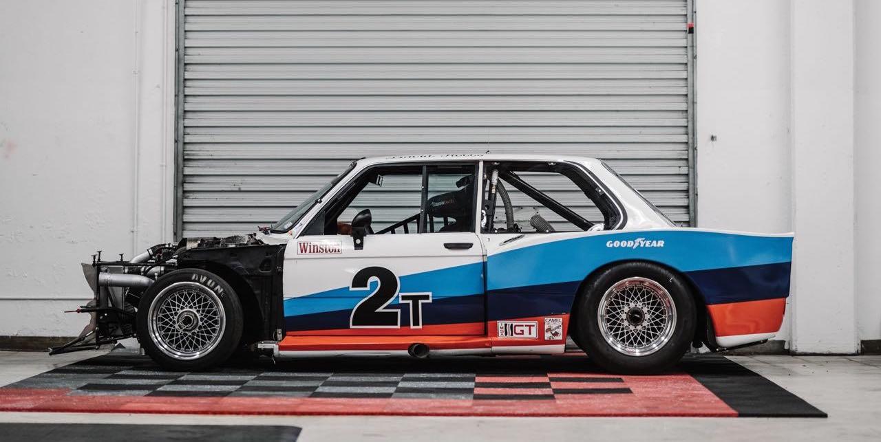 BMW 320i Turbo Gr 5 1978 - E21 en armure de guerre ! 4