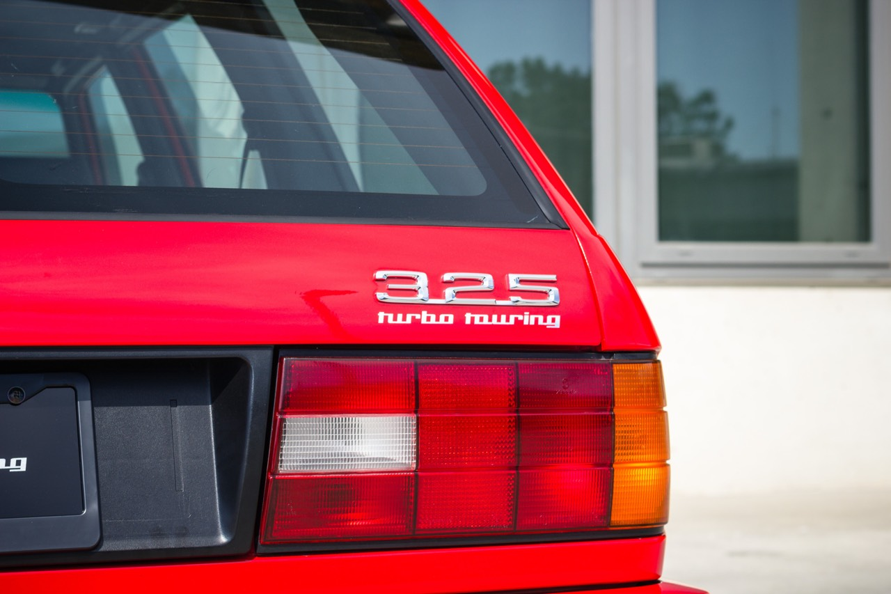'89 BMW E30 Touring 325i Turbo... Rouge comme l'enfer ! 12