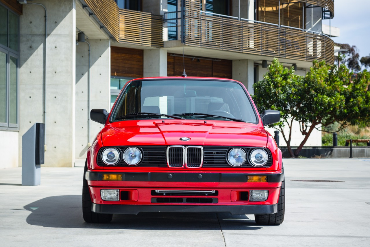 '89 BMW E30 Touring 325i Turbo... Rouge comme l'enfer ! 3