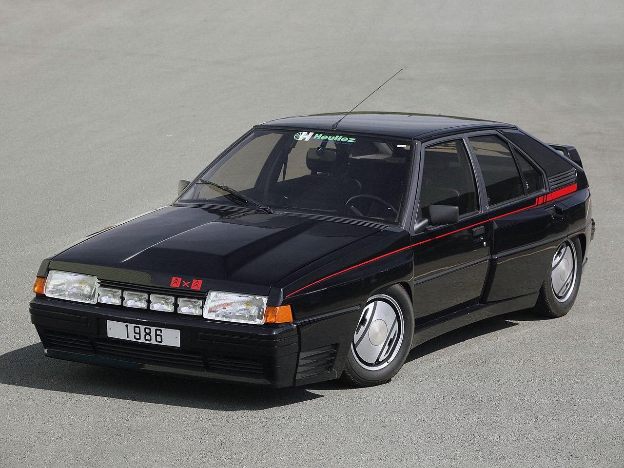 Citroen BX 4 TC - Papy, c'est quoi ton auto ?! 6
