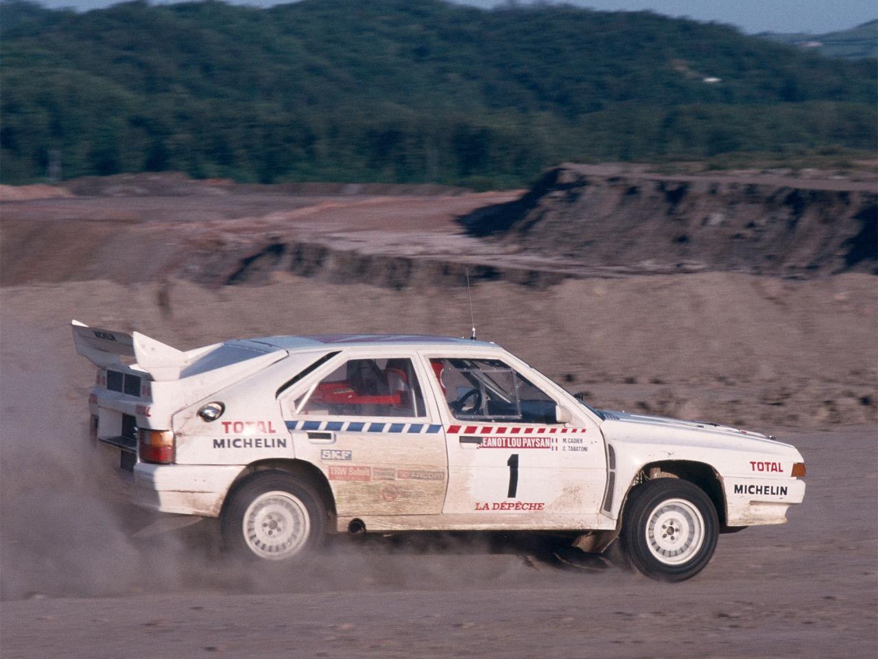 Citroen BX 4 TC - Papy, c'est quoi ton auto ?! 22