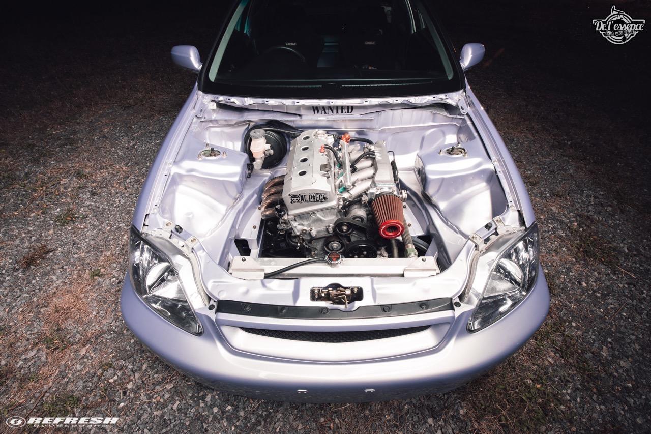 Coupé Honda Civic EJ...2000 - Et en mode propu... 12