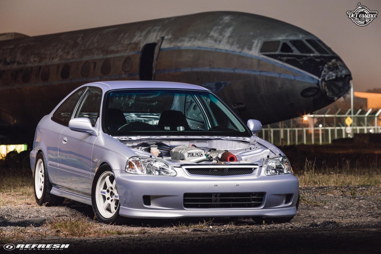 Coupé Honda Civic EJ...2000 - Et en mode propu... 9