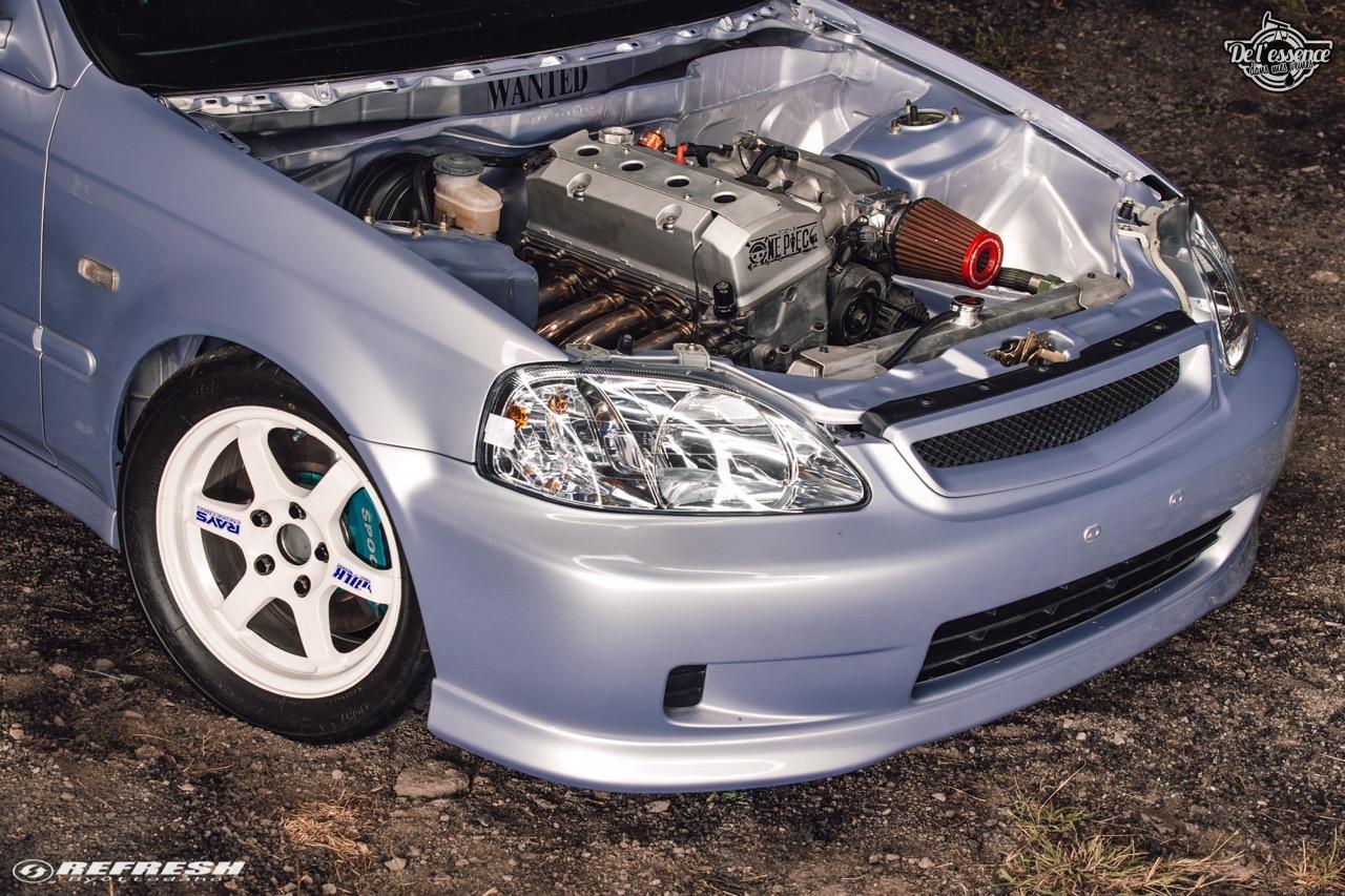 Coupé Honda Civic EJ...2000 - Et en mode propu... 3