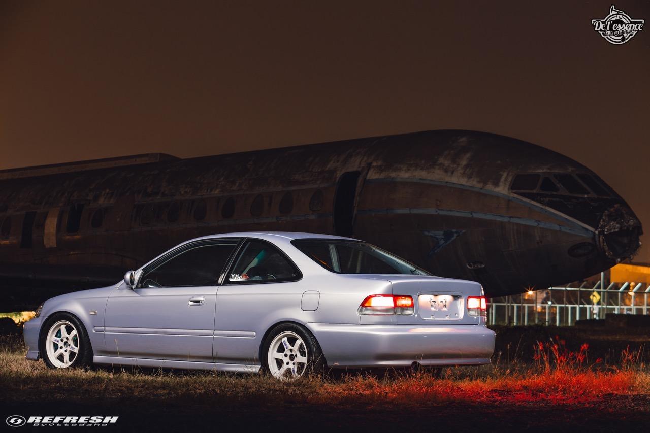 Coupé Honda Civic EJ...2000 - Et en mode propu... 7