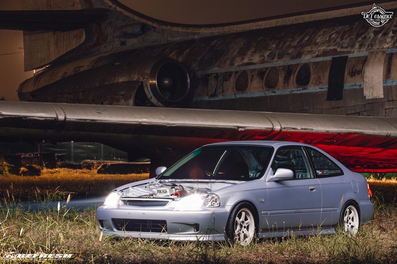 Coupé Honda Civic EJ...2000 - Et en mode propu... 1