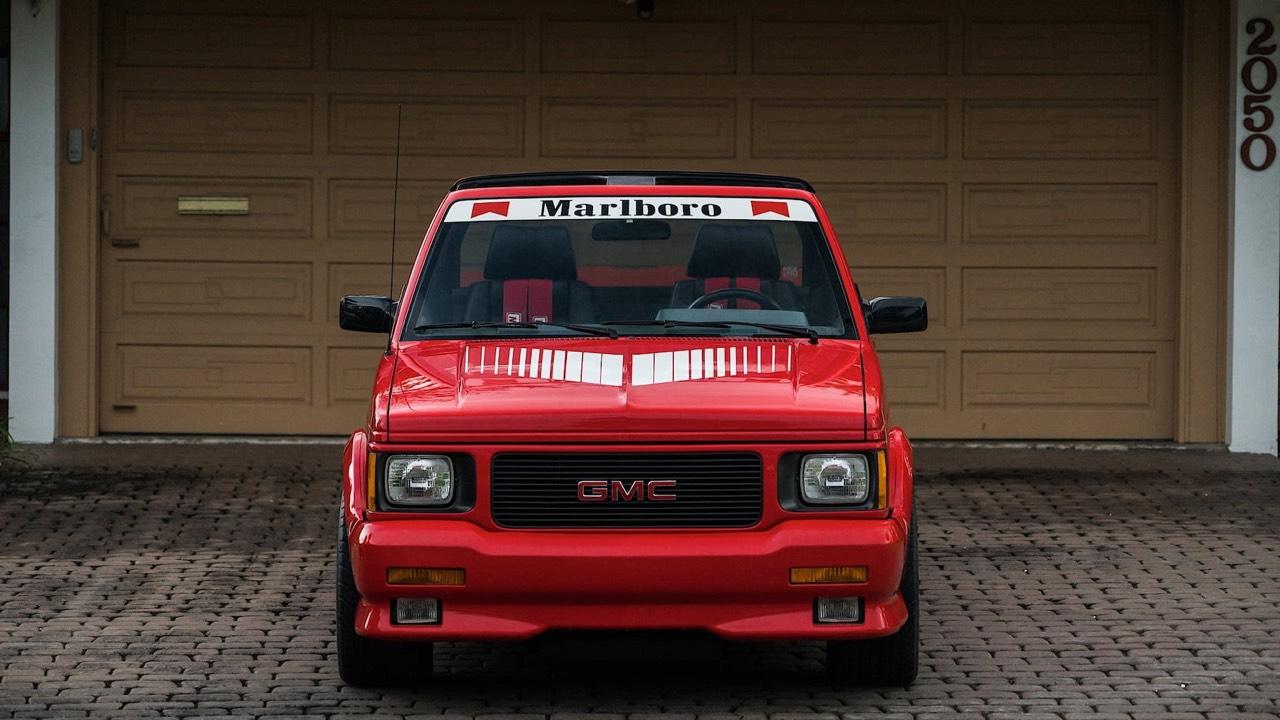 '91 GMC Syclone Marlboro... Pour fumer tout c'qui roule ! 20
