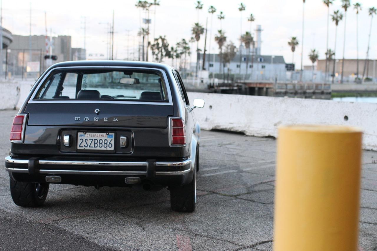 '78 Honda Civic - 218 ch pour 750 kg ! 1