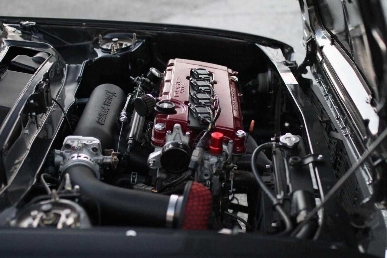 '78 Honda Civic - 218 ch pour 750 kg ! 7