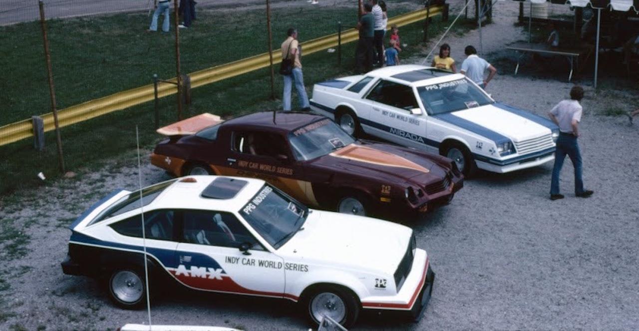 Les Pace Cars PPG 80's... Vous allez vous coucher moins con ! 4