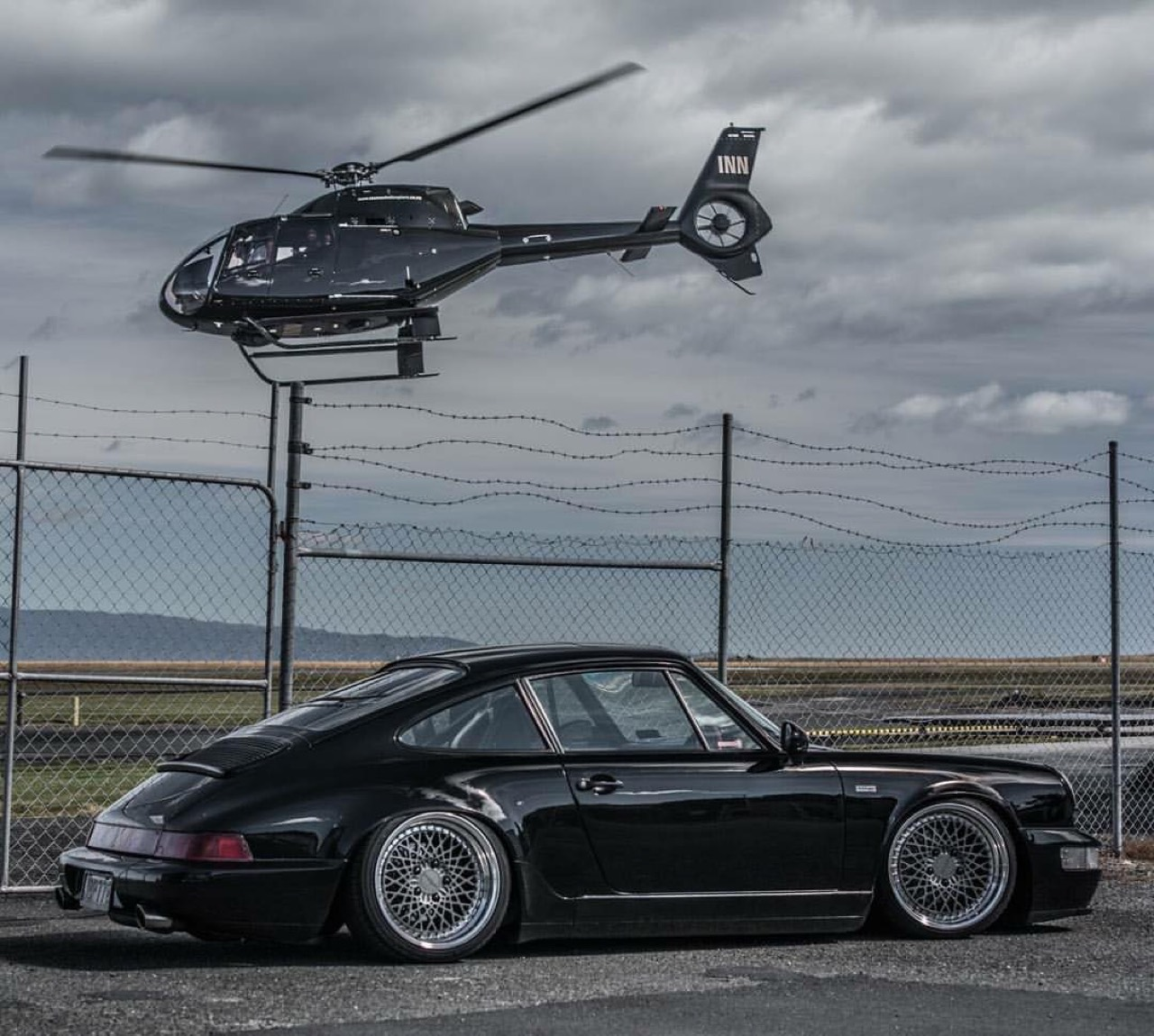 Porsche 964... Courant d'air ! 1