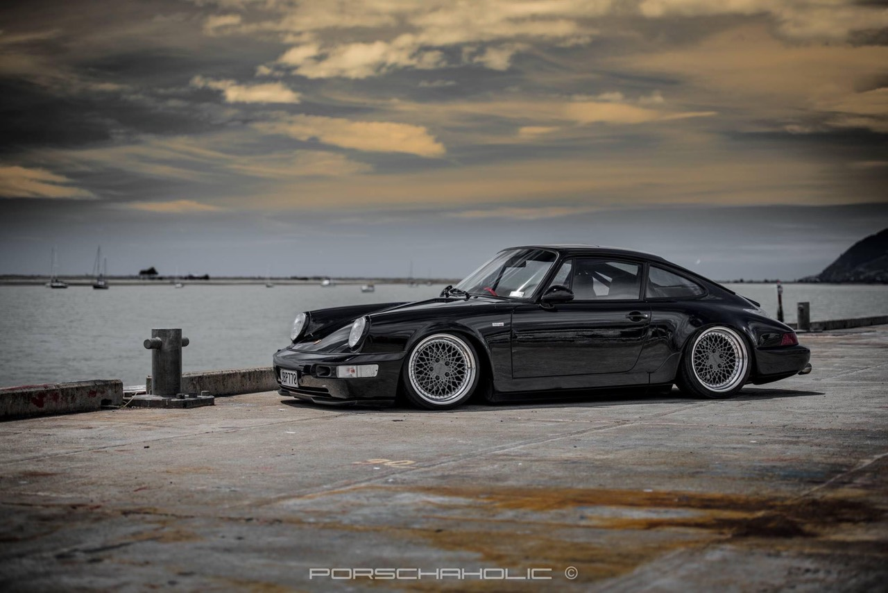 Porsche 964... Courant d'air ! 2
