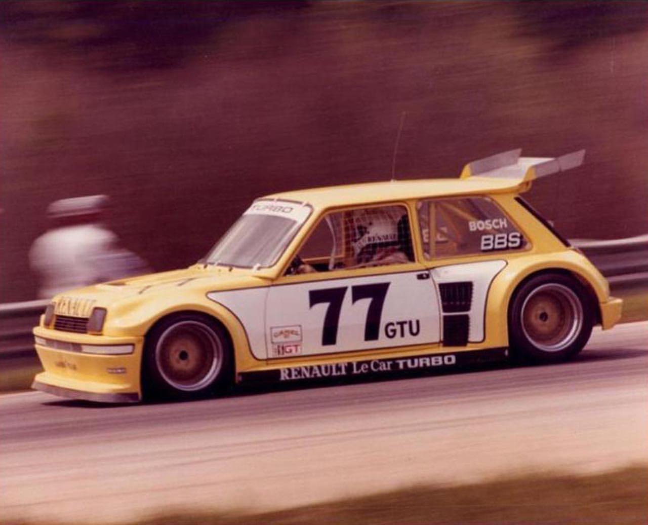 Renault Le Car Turbo GTU IMSA - De l'autre côté de l'Atlantique ! 1