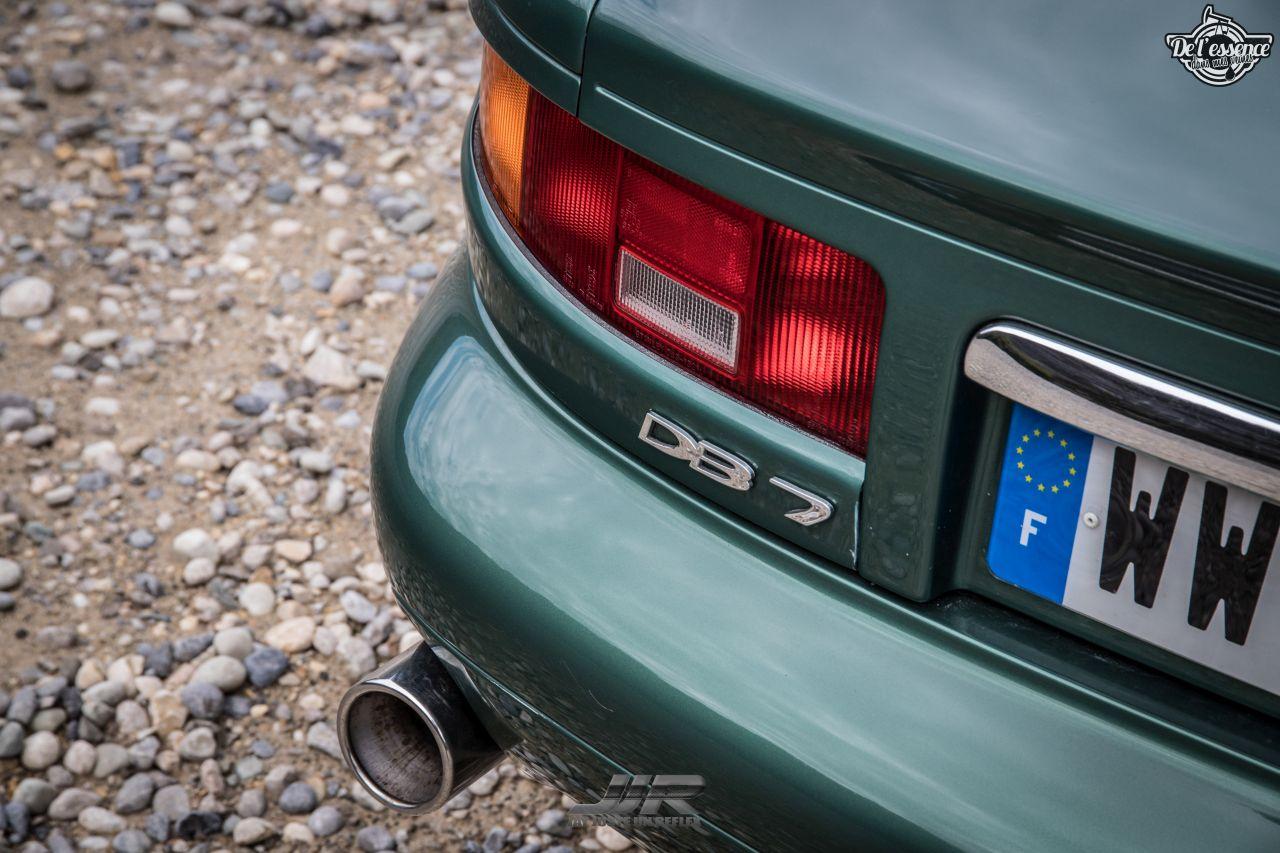 L'Aston Martin DB7 d'Hedi - Champagne, petits fours et clef de 13... 2
