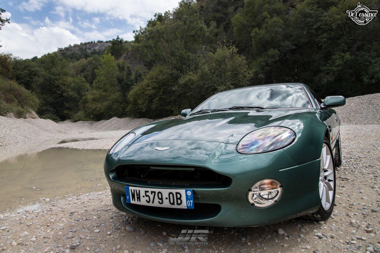 L'Aston Martin DB7 d'Hedi - Champagne, petits fours et clef de 13... 9