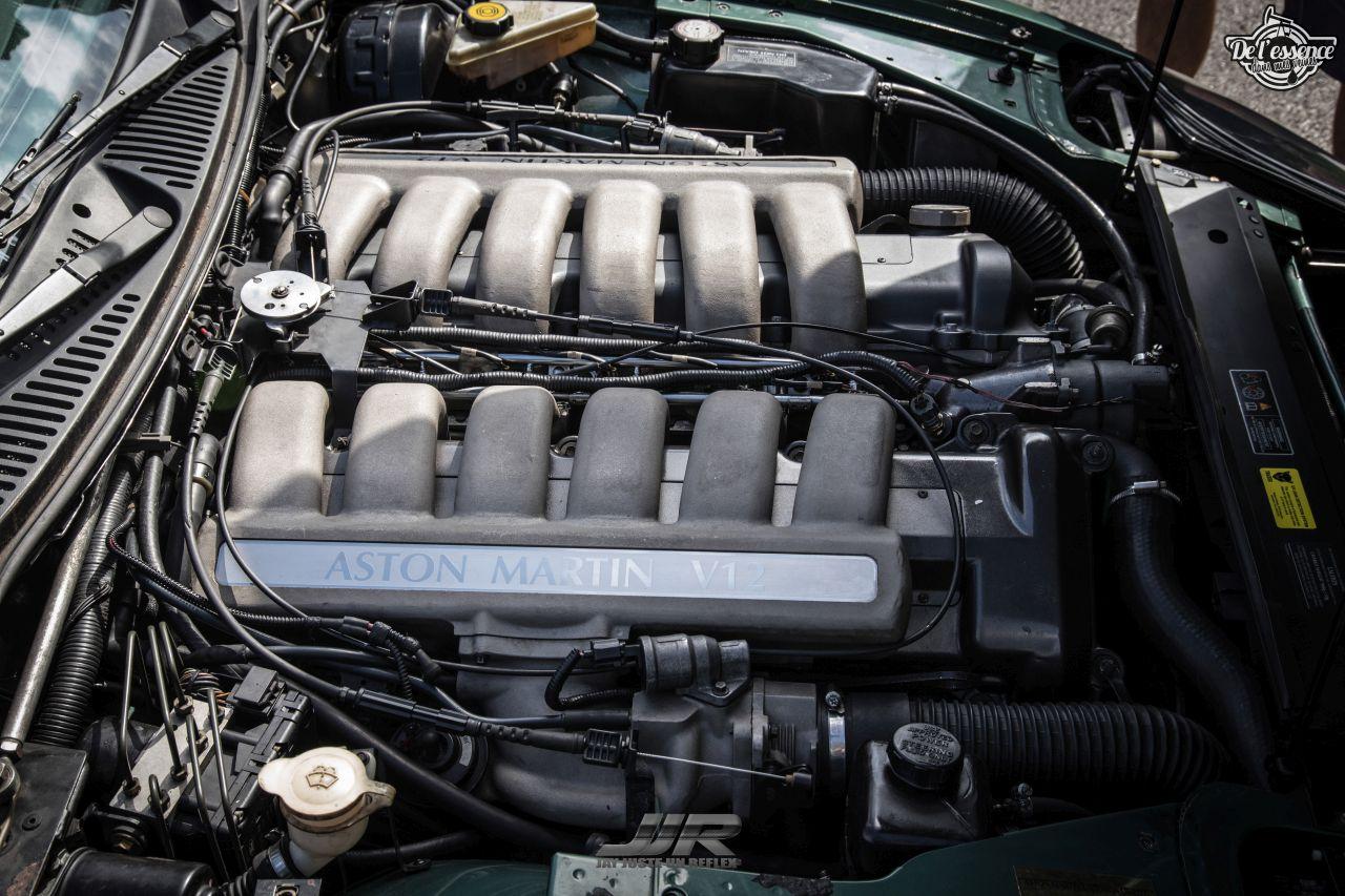L'Aston Martin DB7 d'Hedi - Champagne, petits fours et clef de 13... 4