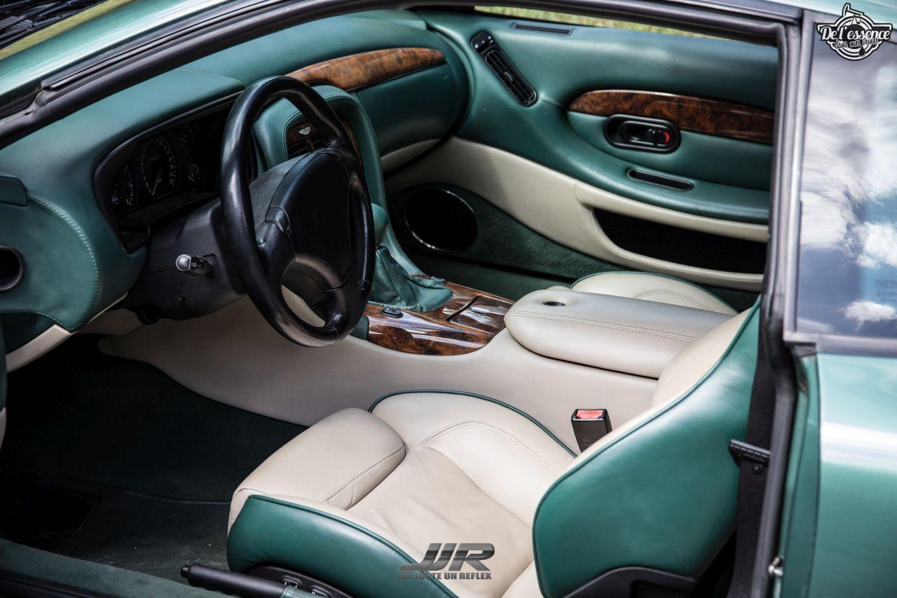 L'Aston Martin DB7 d'Hedi - Champagne, petits fours et clef de 13... 7